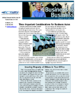 10/8/2015 – Considerations for Business Autos