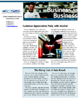 10/8/2015 – Customer Appreciation Party with Alcohol