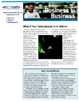 11/16/2016 – What If Your Subcontractor Is to Blame?