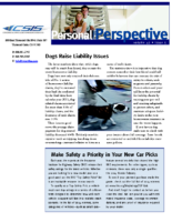 12/1/2014 – Dogs Raise Liability Issues