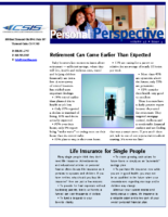 12/1/2014 – Retirement Can Come Earlier Than Expected
