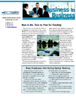 5/22/2014 – Now Is the Time to Plan for Flooding