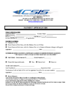 CSIS Payment Options Form