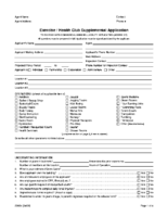 Exercise Health Club Application